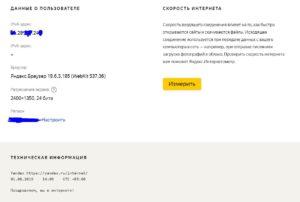 Яндекс Интернетомер